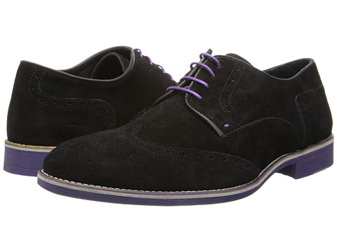 Pantofi Kenneth Cole - Social Ladder - Black/Purple Suede
