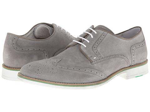 Pantofi Kenneth Cole - Social Ladder - Light Grey Suede