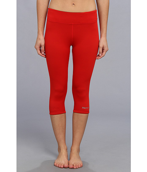 Pantaloni Marmot - Catalyst 3/4 Reversible Tight - Cherry Tomato/Black