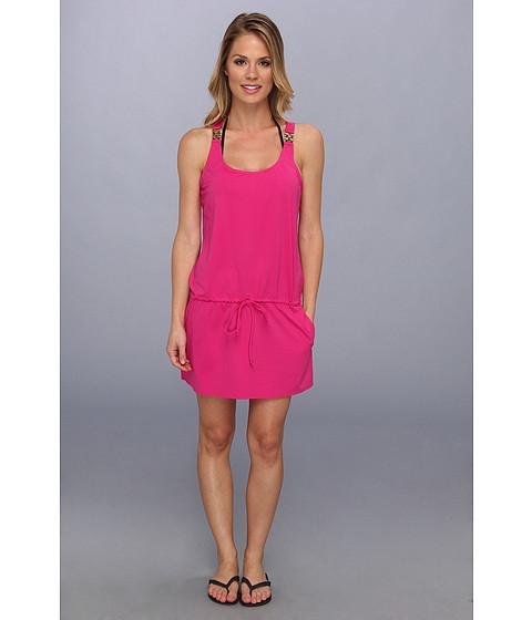 Costume de baie MICHAEL Michael Kors - Watch Band Tank Cover Up Dress - Radiant Pink