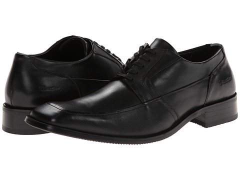 Pantofi Kenneth Cole Reaction - Wait Around - Black Leather