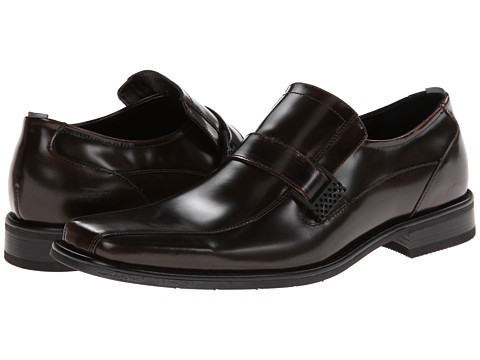 Pantofi Kenneth Cole Reaction - Contract Law Bo - Brown Box Leather
