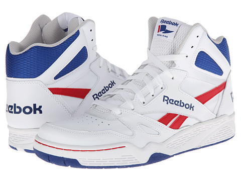 Adidasi Reebok - Royal BB4500 Hi - White/Steel/Team Dark Royal/Excellent Red