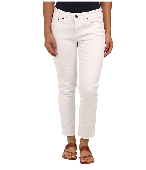 Blugi Big Star - Petite Alex Midrise Skinny Crop in White - White