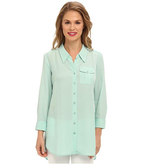 Bluze NIC+ZOE - Cool Mist Shirt - Cool Mint