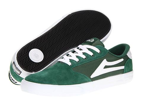 Adidasi Lakai - Pico - Green/White Suede