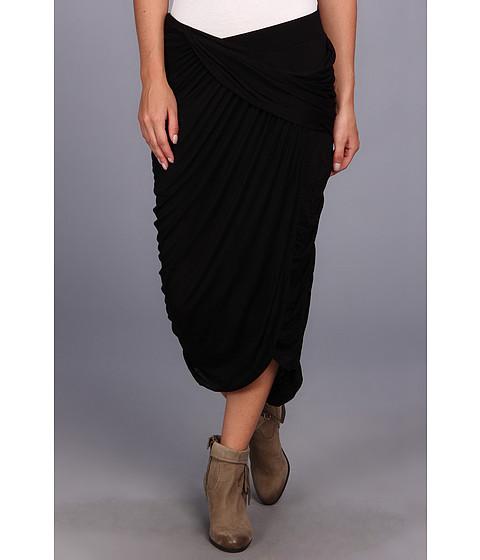 Fuste Free People - Grecian Cascade Skirt - Black