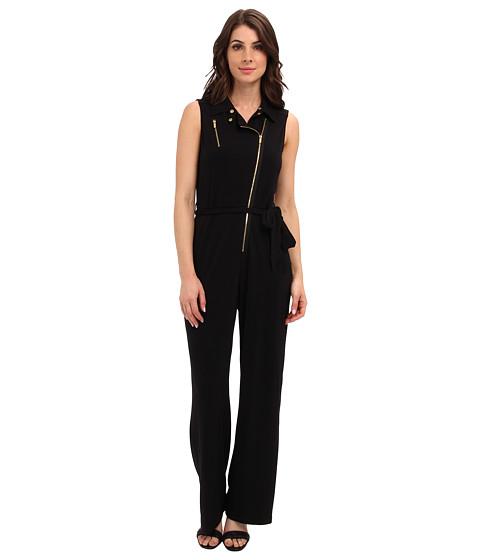Pantaloni Calvin Klein - Moto Jump Suit w/ Zips - Black