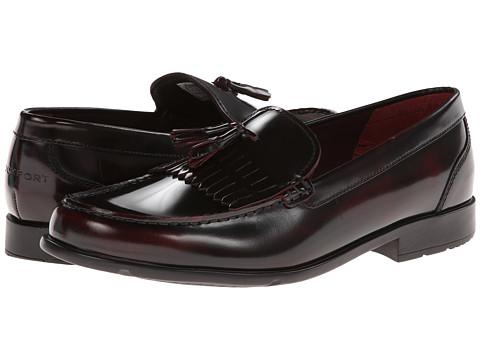 Pantofi Rockport - Classic Loafer Lite Tassle - Burgundy