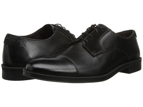 Pantofi Stacy Adams - Caldwell - Black Hand Burnished Leather