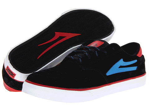 Adidasi Lakai - Carroll 5 - Black/Blue Suede