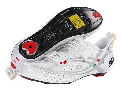 Pantofi SIDI - T3.6 SP Air Carbon - White/Silver Vernice