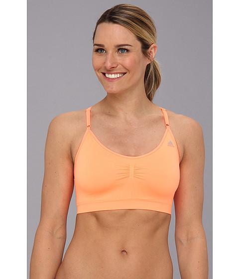 Lenjerie adidas - Adipure Seamless Bra - Glow Orange