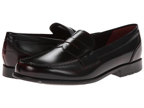 Pantofi Rockport - Classic Loafer Lite Penny - Burgundy