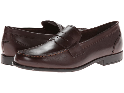 Pantofi Rockport - Classic Loafer Lite Penny - Coach Brown