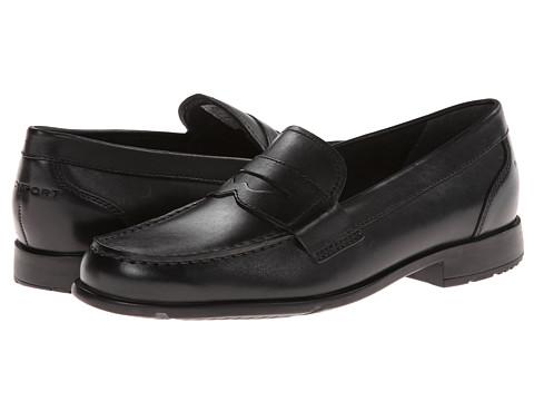 Pantofi Rockport - Classic Loafer Lite Penny - Black