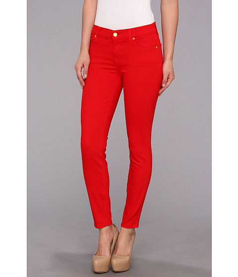 Blugi 7 For All Mankind - Ankle Skinny in Solid Slim Illusion Twill Grenadine - Grenadine