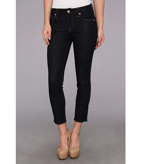 Blugi 7 For All Mankind - Kimmie Crop in Ink Rise - Ink Rise