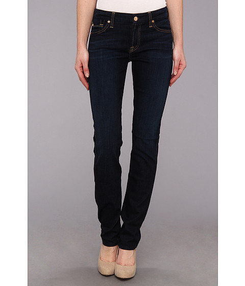 Blugi 7 For All Mankind - Kimmie Straight in Slim Illusion Classic Dark Blue - Slim Illusion Classic Dark Blue