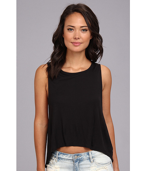Bluze Volcom - Lived In Rib Tank Top - Black