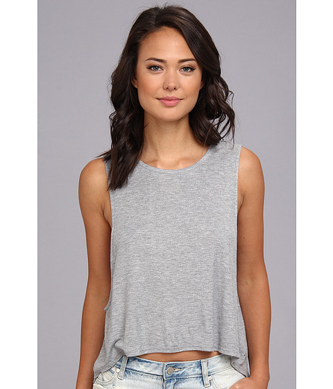 Bluze Volcom - Lived In Rib Tank Top - Heather Grey