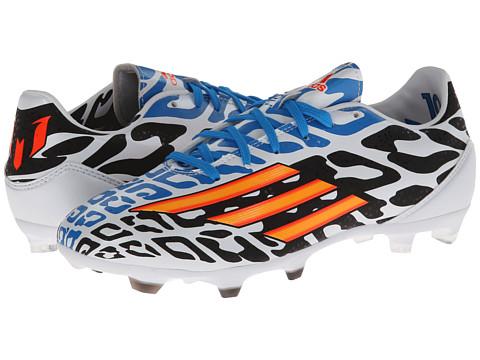 Adidasi adidas - F10 FG – Messi (World Cup) - White/Black/Solar Blue/Solar Gold