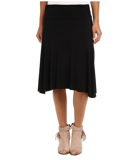 Fuste Gabriella Rocha - Rouched Side Short Skirt - Black