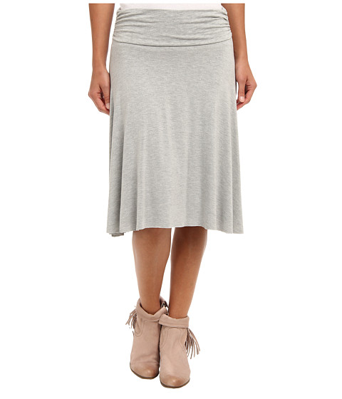 Fuste Gabriella Rocha - Rouched Side Short Skirt - Heather Grey