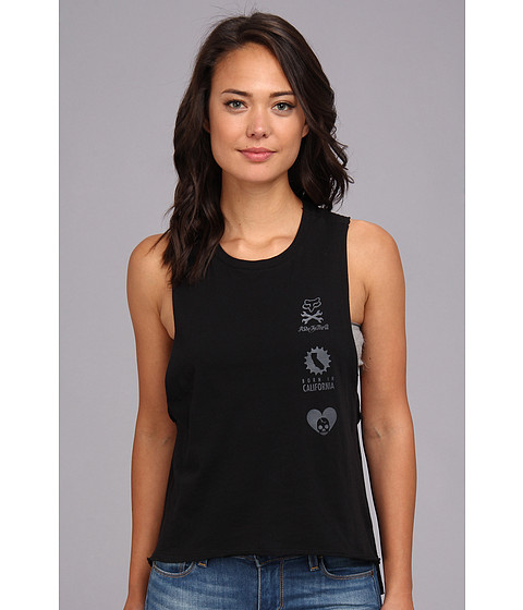 Bluze Fox - Shout Tank - Black