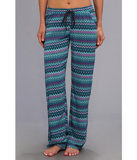 Lenjerie P.J. Salvage - Tropic Challes Zig Zag Sleep Pant - Turquoise