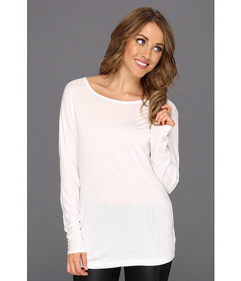 Bluze NIC+ZOE - Longsleeve Layer - Paper White