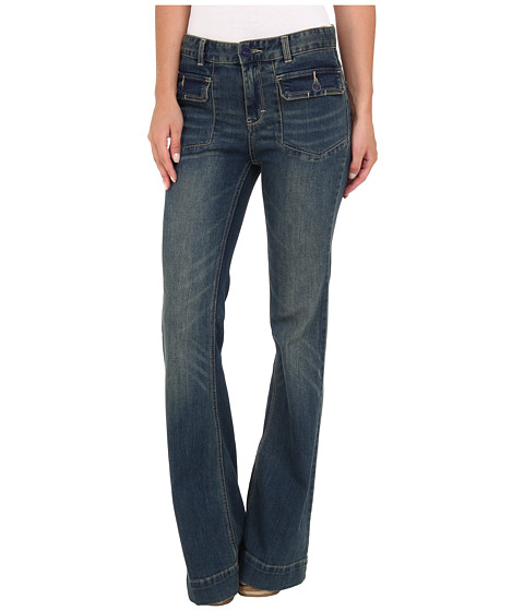 Blugi Free People - Tailored Fit N Flare - Estrella Wash
