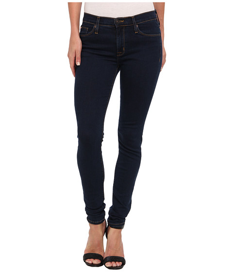 Blugi Hudson - Nico Super Skinny Midrise in Kona (Dark Blue) - Kona (Dark Blue)