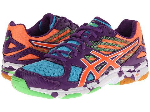 "Adidasi ASICS - GEL-Flashpointâ""¢ 2 - Grape/Peach/Green Gecko"