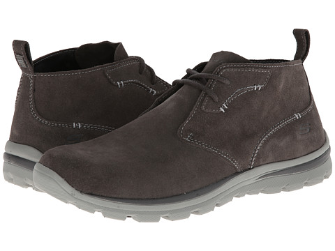 Adidasi SKECHERS - Superior Relaxed Fit Chukka - Charcoal Grey