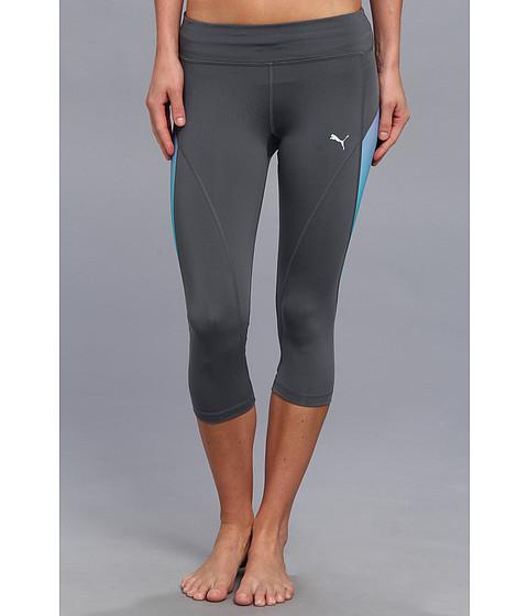 Pantaloni PUMA - Gym Graphic 3/4 Tight - Turbulence/Deep Lavendar