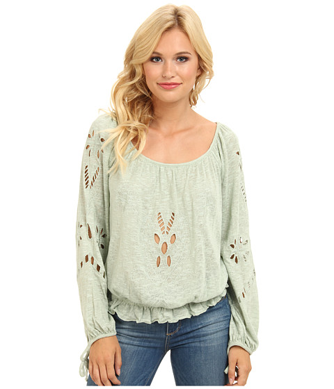 Bluze Free People - Jewel Blouse - Sage