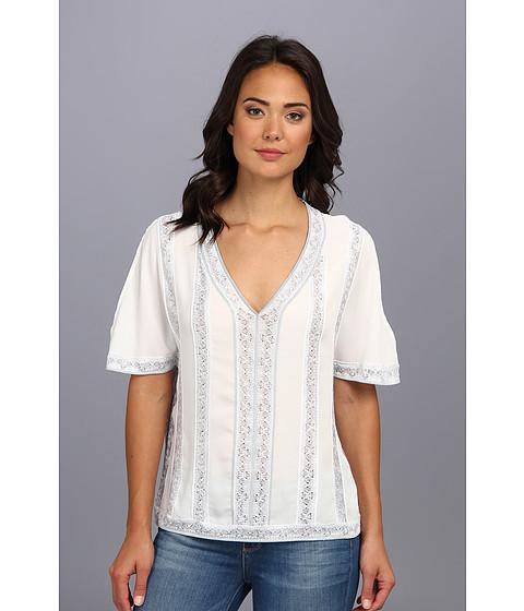 Bluze Nanette Lepore - Sangria Top - White