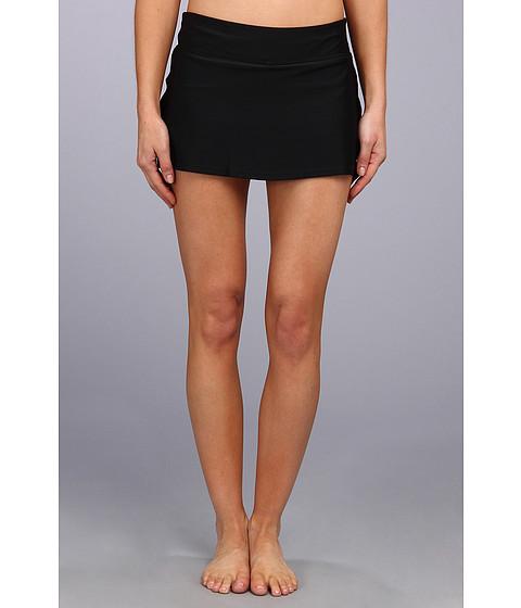 Costume de baie Speedo - Swim Skirt w/ Compression Short - Black