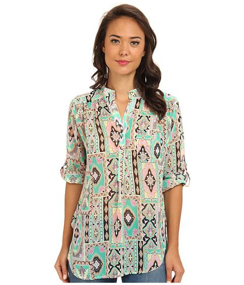 Bluze Gabriella Rocha - Print Chiffon Top - Mint