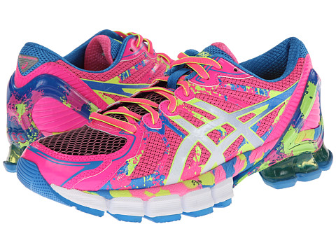 "Adidasi ASICS - Gel-Sendaiâ""¢ 2 - Hot Pink/White/Flash Yellow"