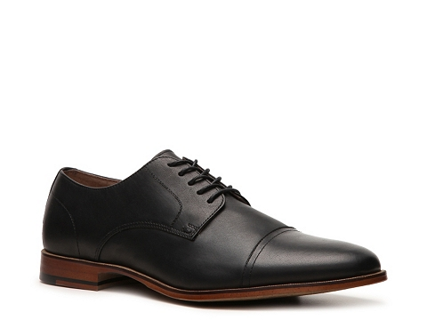 Pantofi Aston Grey - Lan Oxford - Black