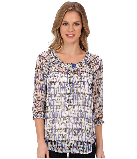 Bluze NIC+ZOE - Indian Summer Breezy Confetti Shirt - Multi
