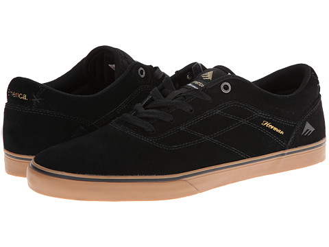 Adidasi Emerica - The Herman G6 Vulc - Black/Gum