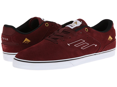 Adidasi Emerica - The Reynolds Low Vulc - Burgundy/White