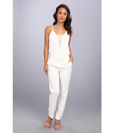 "Pantaloni BCBGMAXAZRIA - \""Waylen\"" Jumpsuit - Off White"