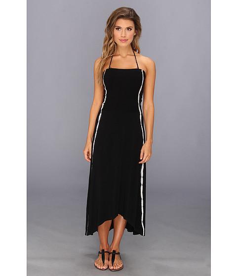 Lenjerie Lucky Brand - Untamed Convertible Tube Dress/Skirt Cover-Up - Black Smoke