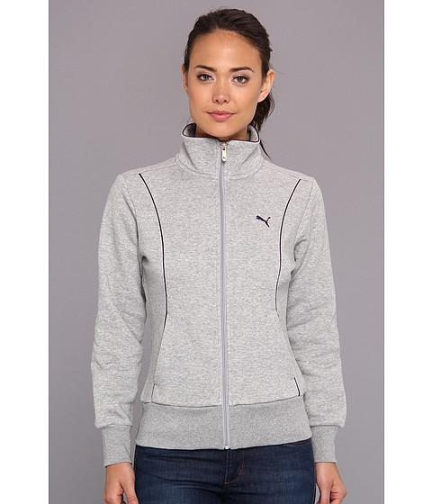 Bluze PUMA - Sweat Track Jacket (Giftable) - Athletic Gray Heathe
