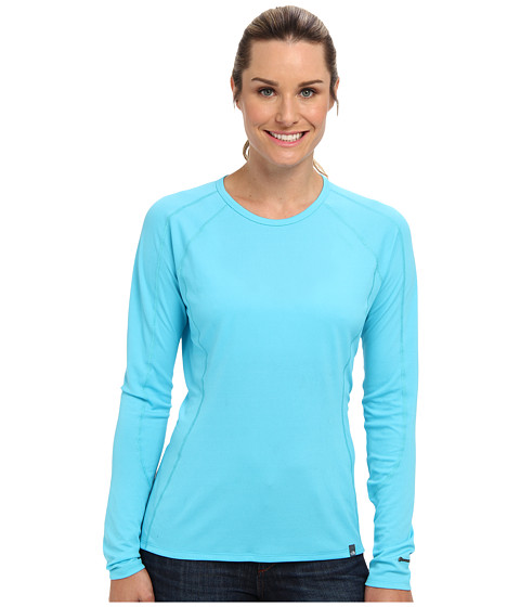 Bluze The North Face - Light L/S Crew Neck High - Turquoise Blue