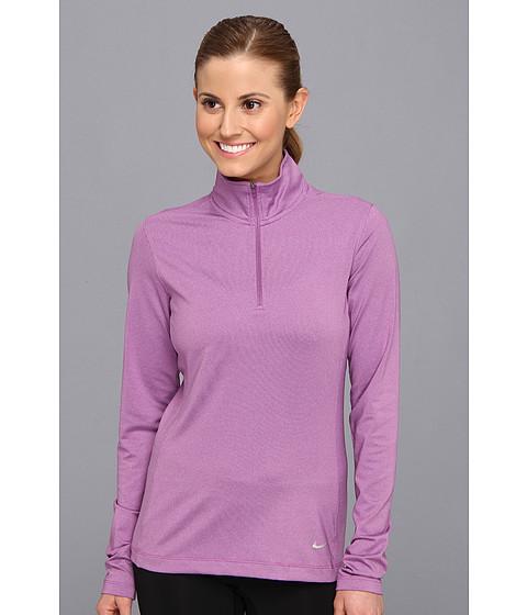 Bluze Nike - 1/2 Zip Key Coverup - Noble Violet Heather/Metallic Silver